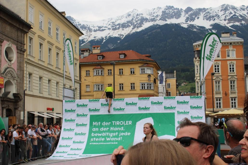 Michael beim Innsbruckathlon 2019